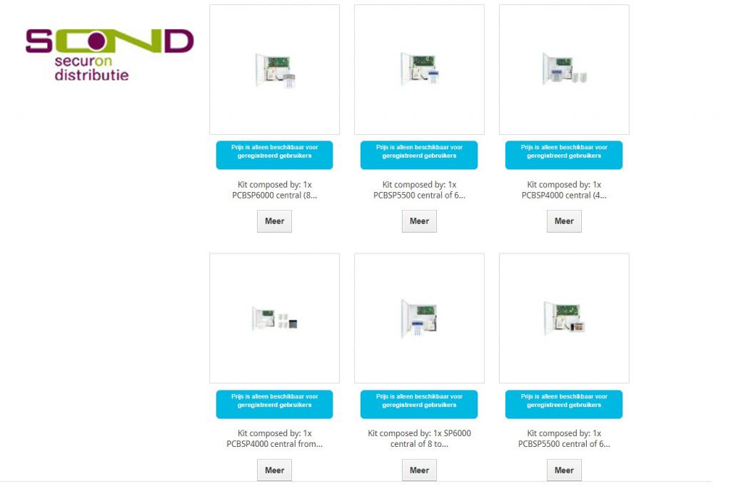 Securon Distributie - Webshop Beveiligingssytemen